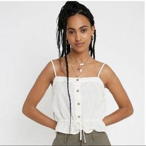 Urban Outfitters Hazel Linen Camisole